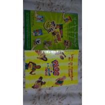 Ping Pong: 131 Figurinhas Ploc Tchan Total + Álbum Vazio