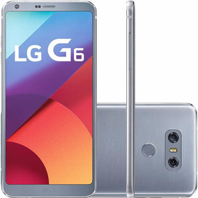 Smartphone Lg G6 Android 7.0 Tela 5.7 Quad-core 2.35 Ghz 32