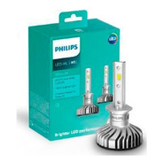 Kit Led Lâmpada Philips H1 +160% Ultinon Led 6200k Par