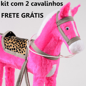 Promoção De Natal Kit Com 2 Cavalos Presenteie Melhor Preço