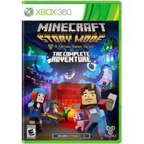 Minecraft Story Mode The Complete Adventure - Xbox 360 Fisic