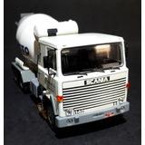 Miniatura Caminhão Scania Lks 140 Concreto