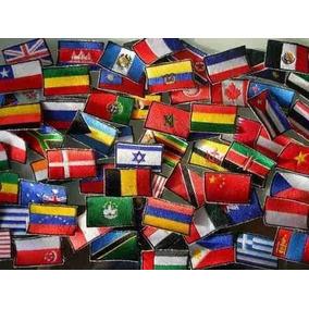 Banderas Bordadas Parches Paises Insignias Y Mucho Mas