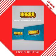 Cartão Habbo - 6 Meses De Habbo Club Brasil