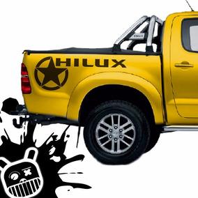 Calco Decorativa Lateral Platoon Para Toyota Hilux! M
