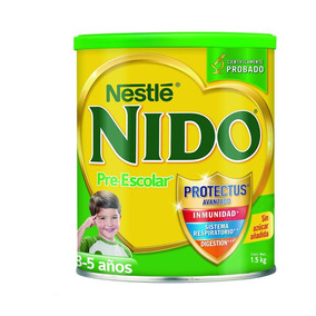 Leche Nido ® Pre-escolar De 3 A 5 Años 1.5kg (lata)