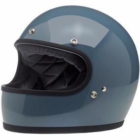 Capacete Biltwell Gringo Gloss Baja Blue/custom/harley/hd