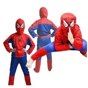 Fantasia Super Herois Homem Aranha Infantil Promocao