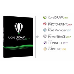 Corel Draw 2017 Licencia Permanente Original X8 X7 Digital