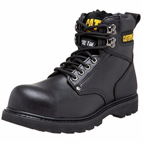 Botas Cat Tacón De Acero Caterpillar Negro 7 Us