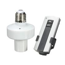 Bocal P/ Lampadas Controle Remoto 110 - 220 V Pronta Emtrega