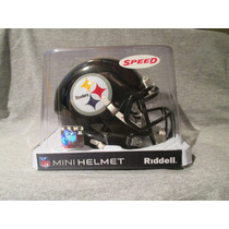 Nfl Pittsburgh Steelers Mini Casco Modelo Speed By Riddell