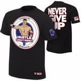 Wwe Polera Original Y Nueva John Cena Hustle Loyalty Respect