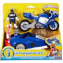 Imaginext Power Rangers Triceratops Moto Fisher Price