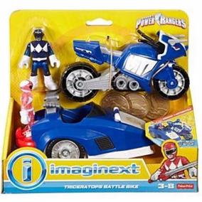 Imaginext Power Rangers Triceratops Moto Fisher Price