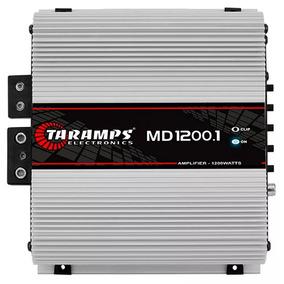 Modulo Taramps Md1200.1 1 Canal 1200wrms Mono Rca Md 1200 .1