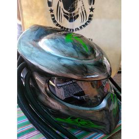 Casco Depredador Argentina (visor Transparente)