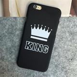 Capa Capinha Rei Rainha Iphone 5 5s 5se 6 6s Plus 7 7 Plus