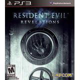 Resident Evil Revelations Ps3 | Digital | Stock Inmediato