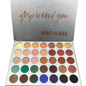 Beauty Glazed Paleta De Maquiagem 35 Cores