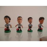 Muñecos Futbol Cabezones Mundial Francia Cocacola (lote 4)