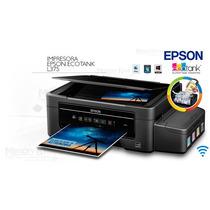 Impresora Multifuncional Epson L375 Tinta Continua Usb Wifi
