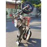 Honda Cbx Wheeling Preparada Twister Empinar Nota De Leilão