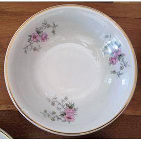 Antiguo Juego De 4 Compoteras Porcelana Hartford Shabby Chic