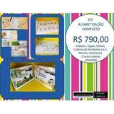 Kit Alfabetização Completo Autismo Material Pedagógico
