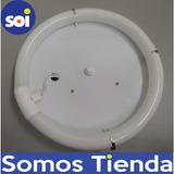 Lampara Circulares Fluorescente Con Bombillo 32w 110v L-401