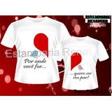 Presente Namorados Kit 2 Camisetas Namorados - Casal Amor