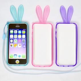 Bumper Para Iphone 4, 4s, 5, 5s, Se Conejo Tpu