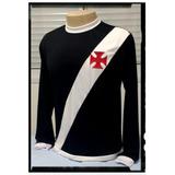 Camisa Vasco Manga Longa - Tam M G & Xg