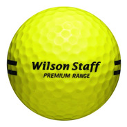Kaddygolf Pelotas Golf Driving Wilson - Amarillas - Nuevas