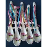 Cucharitas De Porcelana Personalizadas Souvenirs