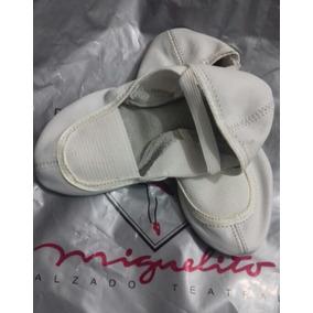 Zapatillas De Gimnasia O Ballet Miguelito Saldos