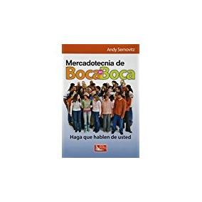 Libro Mercadotecnia De Boca En Boca *jz