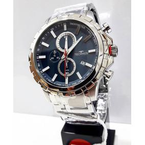 Relógio Technos Masculino Cronógrafo Js15fa/1a Prata