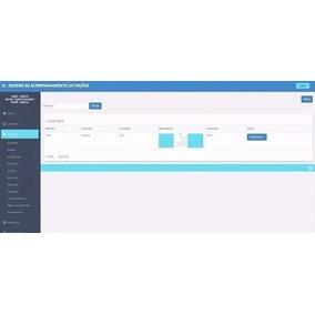 Sistema Para Acompanhamento De Licitações E Contratos