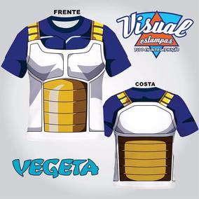 Camiseta Uniforme Vegeta Normal Dragon Boll Z