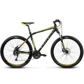 Bicicleta Kross Hexagon R5 Negro/amarillo/lime Matte