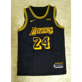 Camisa Regata Kobe Bryant Lakers Preta 2018. R  159 99 db77a6b0ecb64