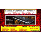Samples Korg Pa 600 Paquete Completo