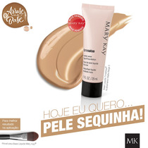 Base Matte Mary Kay Beige 5 + Gel Sobrancelhas Mary Kay