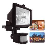 Refletor Com Sensor De Presença E Lâmpada Halógena 100w 220v