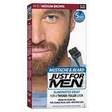 Just For Men Tintura Para Barba Y Bigote M-35 Medium Brown