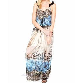 Lindo Vestido Feminino Longo Casual Festa Leve Para O Verão