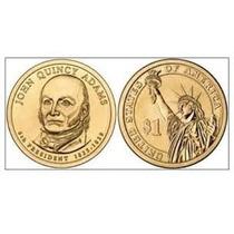 Moneda John Quincy Adams 1 Dolar Presidencial P&d Bu