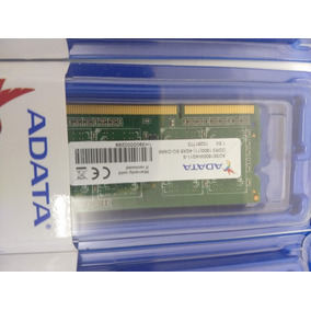 Memoria Adata P/notebook 4gb 1x4gb Ddr3 1600mhz Sodimm