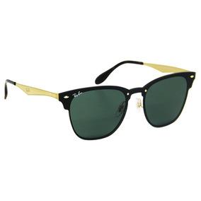 Óculos De Sol Ray-ban Rb3576 Clubmaster Blaze